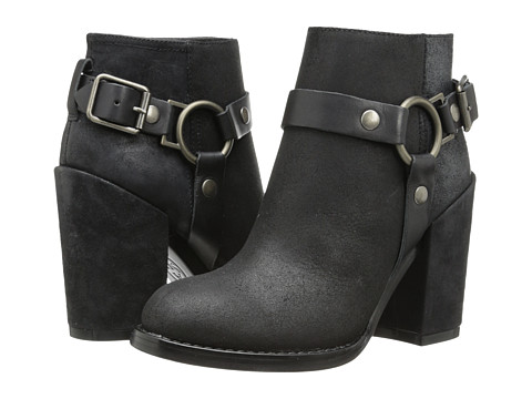 ASH - Falcon (Black/Black Reverse Broken) Women's Zip Boots