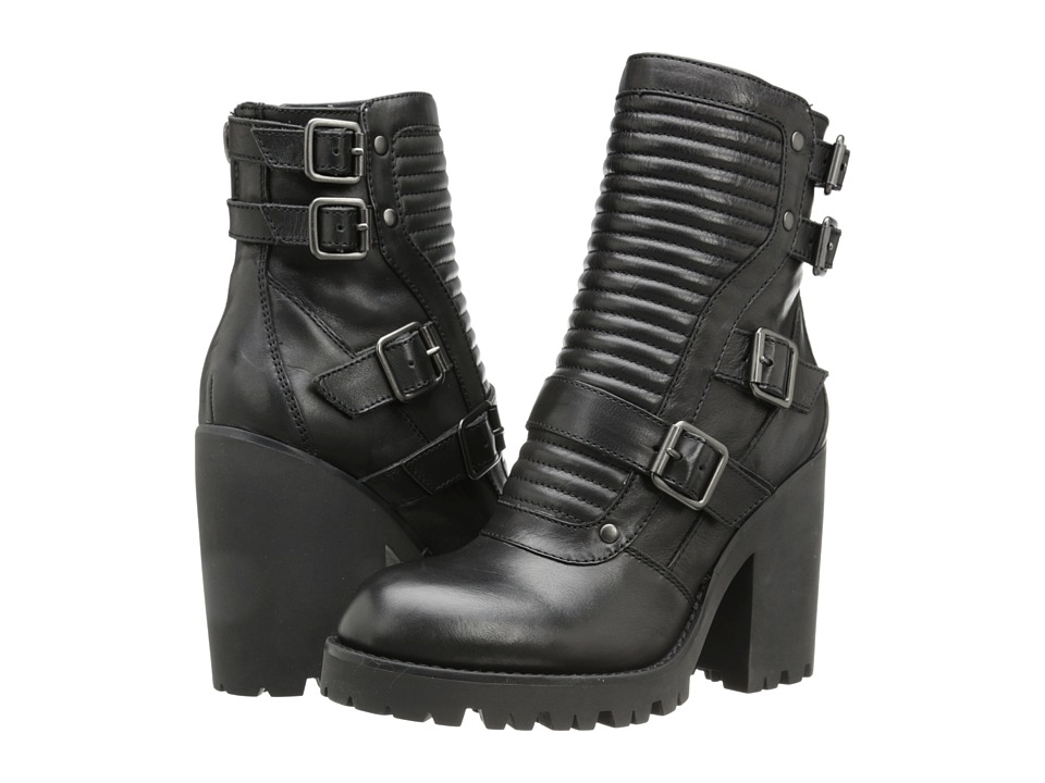 ASH - Peace (Black Denver) Women's Zip Boots