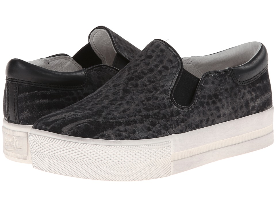 ASH - Jam (Smog/Black Python Kid Suede/Nappa Wax) Women's Slip on Shoes