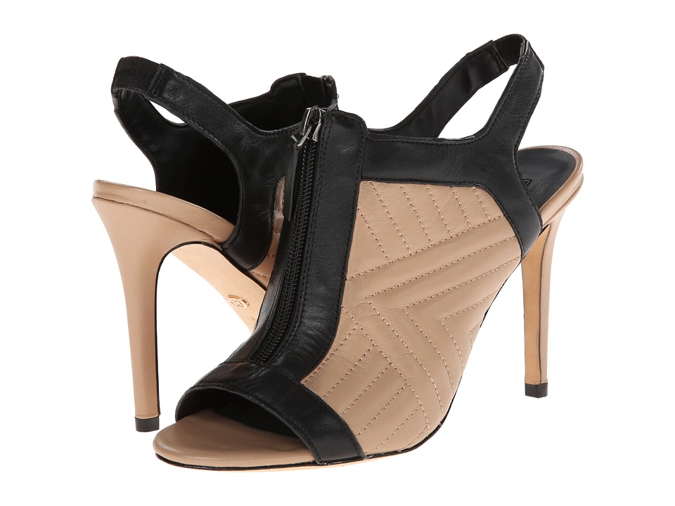 Charles by Charles David - Inverse (Nude/Black Leather) High Heels