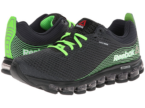 Reebok - Z Jet (Gravel/Solar Green) Men's Running Shoes