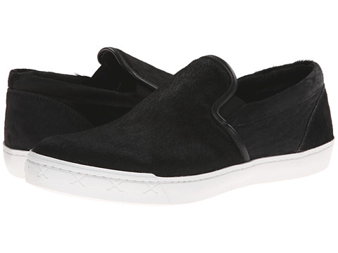 Steve Madden - Gunman (Black Pony) Men's Slip on Shoes