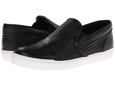 Steve Madden - Gunman (Black Stud) Men's Slip on Shoes