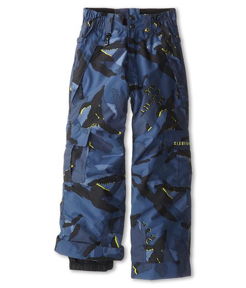 686 Kids - Authentic Ridge Insulated Pant (Little Kids/Big Kids) (Blue Camo Glo) Boy