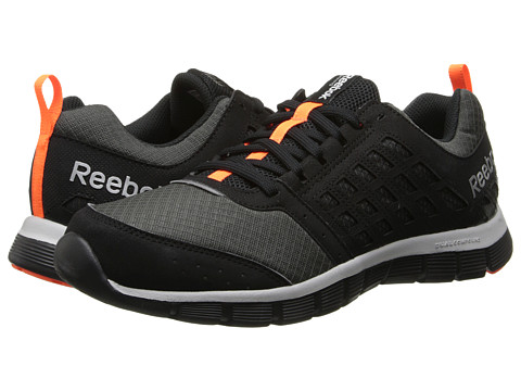 Reebok - Z Dual Ride (Winter Pack/Black/Gravel/Matte Silver/Solar Orange/Steel) Men's Shoes