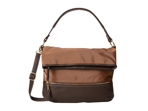 Franco Sarto - Cassidy Foldover Cross-Body (Whiskey) Cross Body Handbags