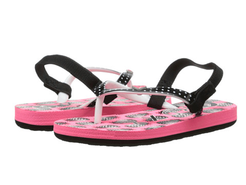 Roxy Kids - Pebbles V (Toddler) (Hot Pink) Girl's Shoes
