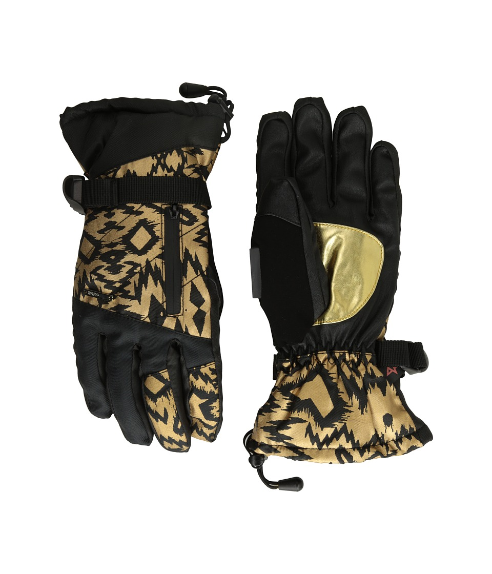 Celtek - Stella Gloves (Gold Rush) Snowboard Gloves