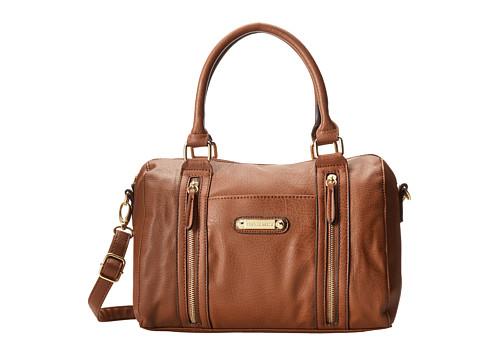 Franco Sarto Ivy Satchel (Whiskey) Satchel Handbags