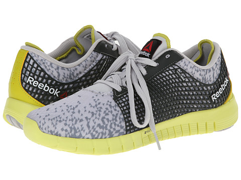Reebok - Z Quick (Geo/Steel/Flat Grey/Chartreuse/High Vis Green/Dark Sage) Men's Running Shoes