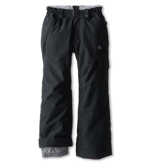 686 Kids - Authentic Misty Insulated Pant (Little Kids/Big Kids) (Black) Girl