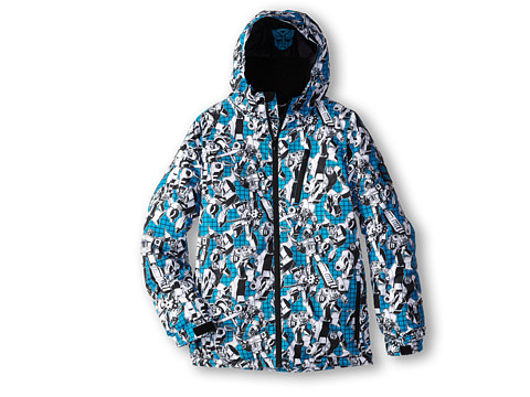 686 Kids - Stance Transformer Jacket (Little Kids/Big Kids) (Blue) Boy's Jacket