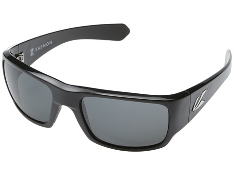 Kaenon - Pintail (Shiny Black/Gunmetal/Grey G12) Sport Sunglasses