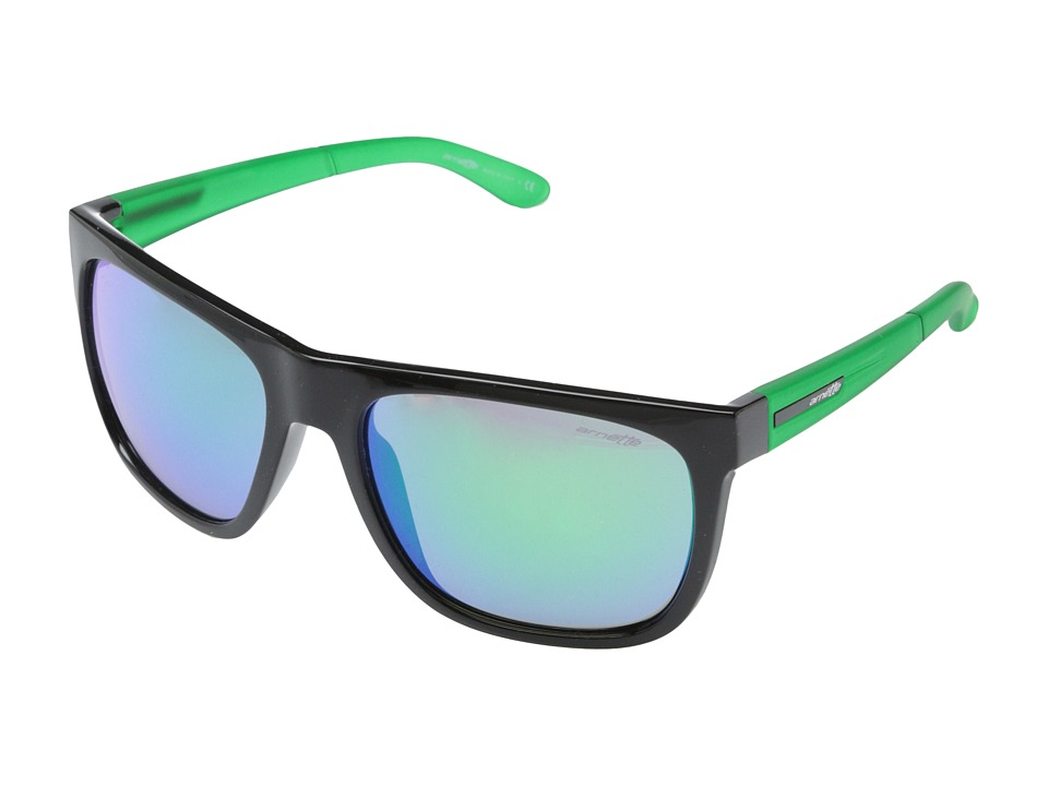 Arnette - Fire Drill (Black Lime/Citrus) Sport Sunglasses