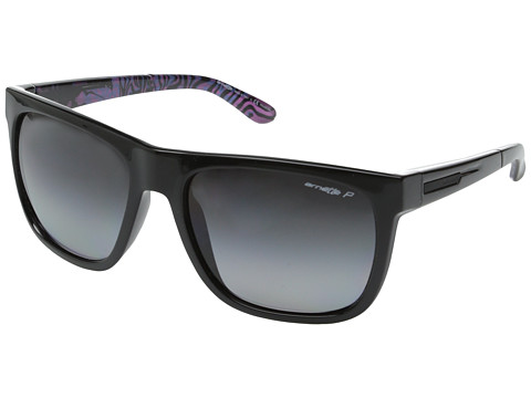 Arnette - Fire Drill Polarized (Black Violet/Gradient Polarized) Sport Sunglasses