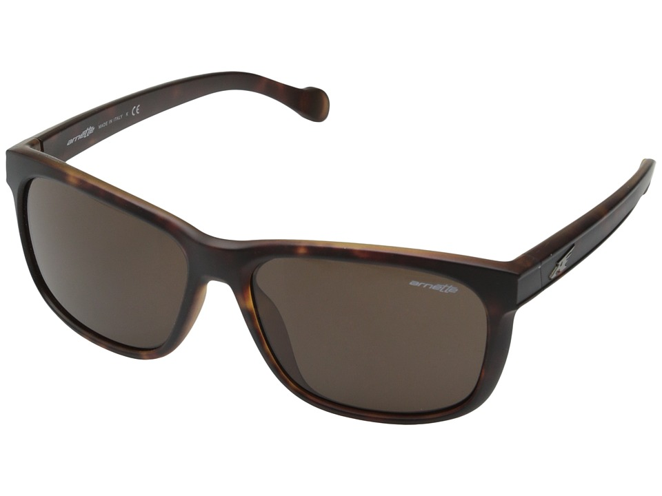 Arnette - Slacker (Fuzzy Havana/Brown) Sport Sunglasses