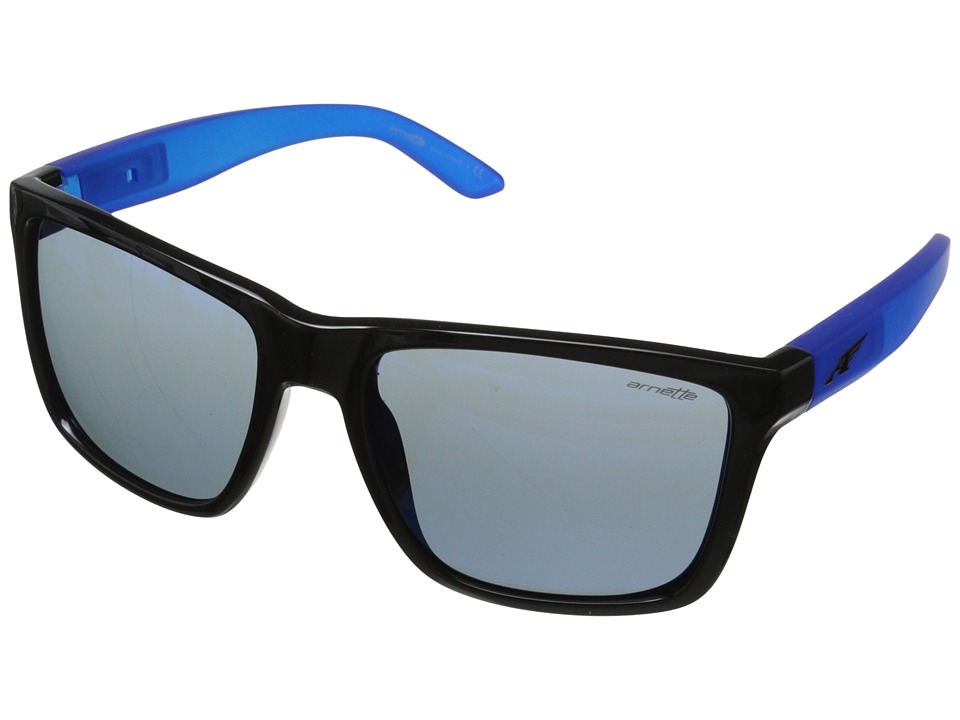 Arnette - Witch Doctor (Black Blueberry/Blue Mirror) Sport Sunglasses