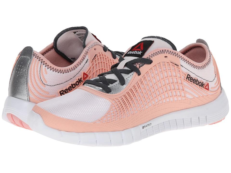Reebok - Z Goddess Glitch (Polar Pink/Patina Pink/Silver Metallic/Graphite/White) Women's Shoes
