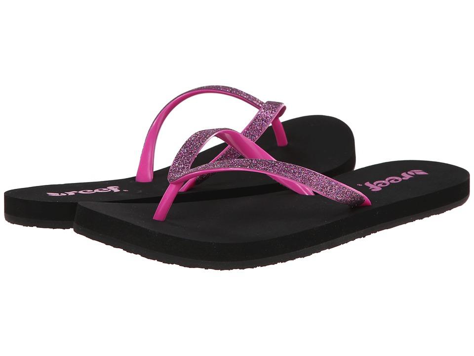 Reef - Stargazer (Black/Berry) Women's Sandals