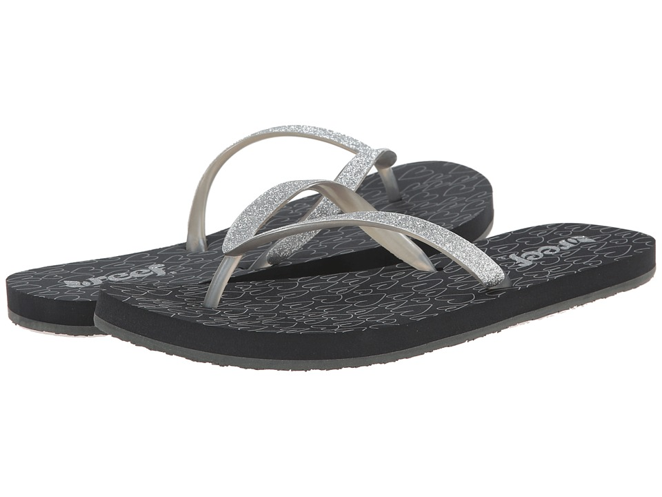Reef - Stargazer Prints (Grey/Hearts) Women's Sandals