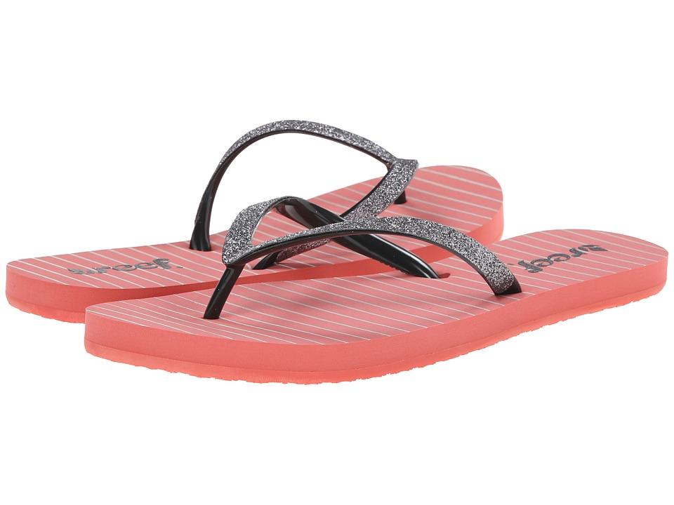Reef - Stargazer Prints (Coral/Gunmetal) Women's Sandals