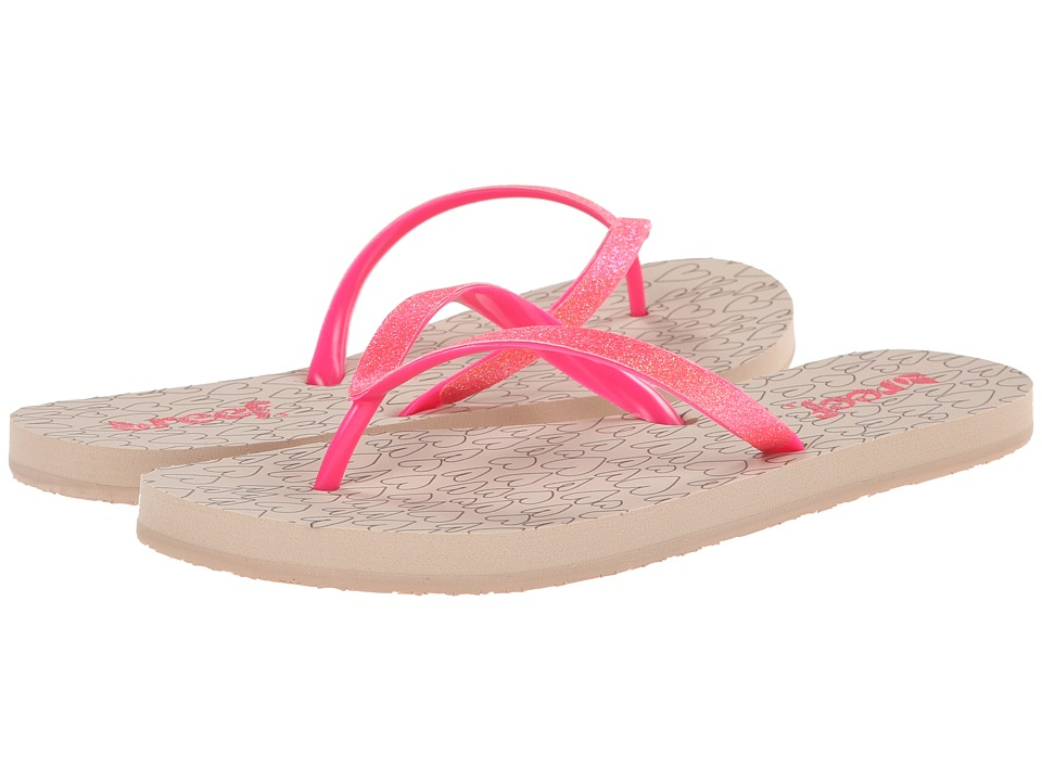 Reef - Stargazer Prints (Taupe/Neon Pink) Women's Sandals