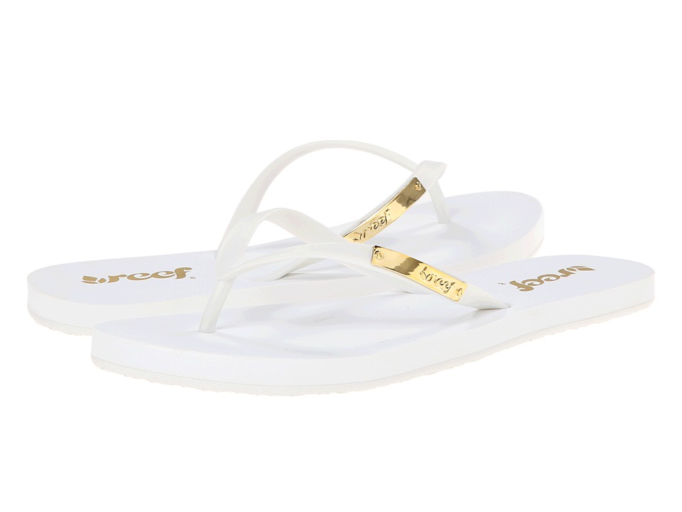 Reef - Glam (White) Women's Sandals