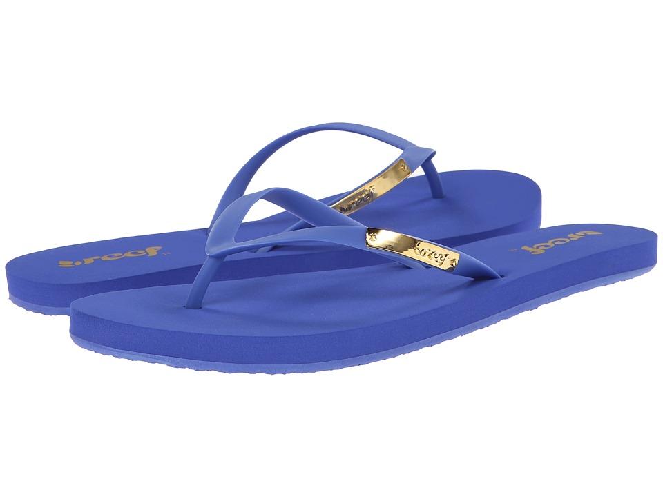 Reef - Glam (Blue) Women's Sandals