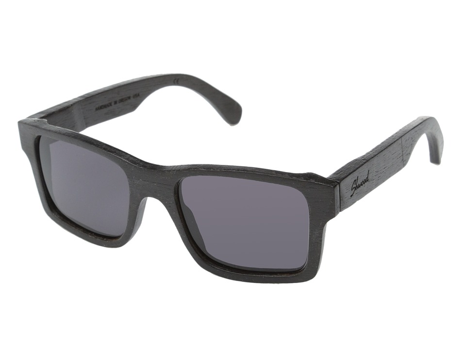 Shwood - Haystack (Dark Walnut - Grey) Sport Sunglasses