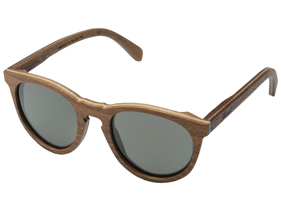 Shwood - Belmont - Polarized (Walnut - Grey Polarized) Sport Sunglasses
