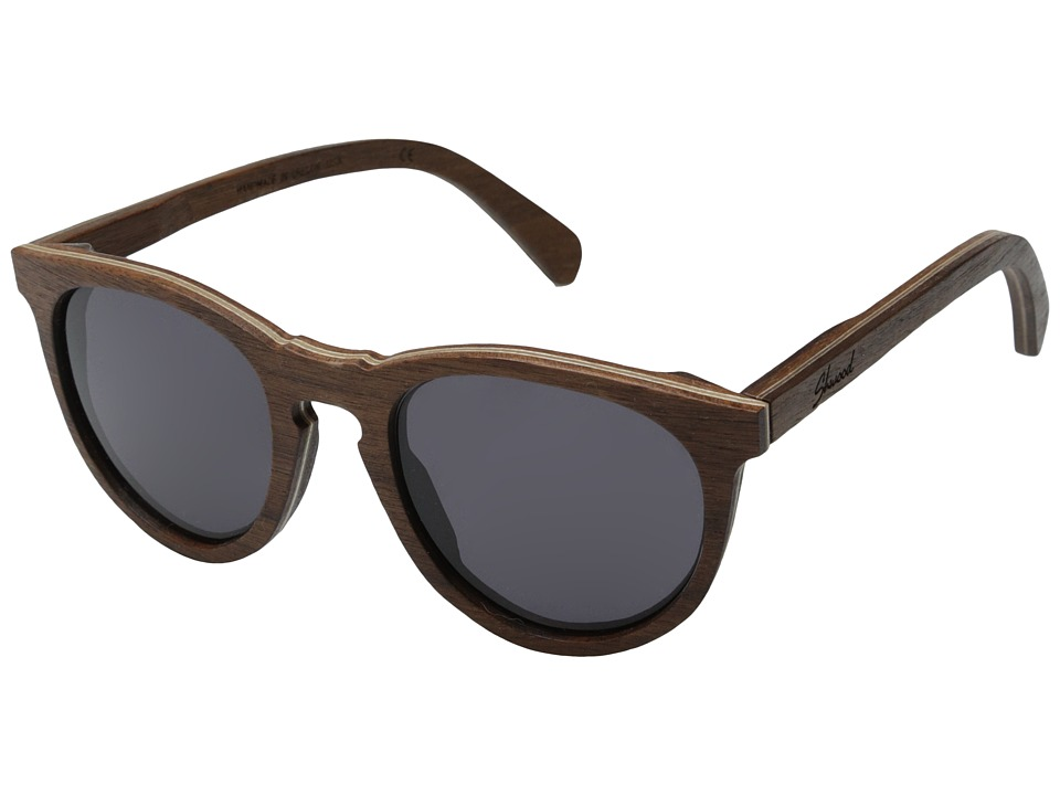 Shwood - Belmont (Walnut - Grey) Sport Sunglasses
