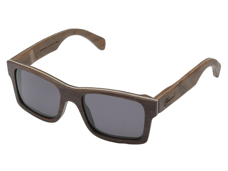 Shwood - Haystack (Walnut - Grey) Sport Sunglasses