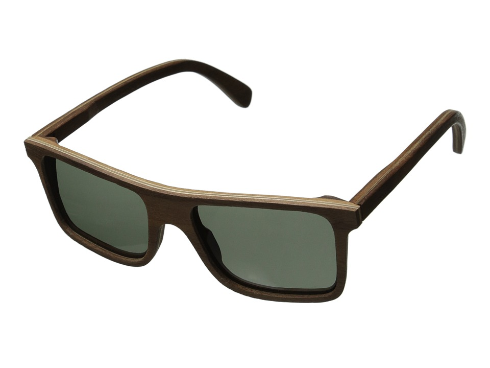 Shwood - Govy - Polarized (Walnut - Grey Polarized) Sport Sunglasses