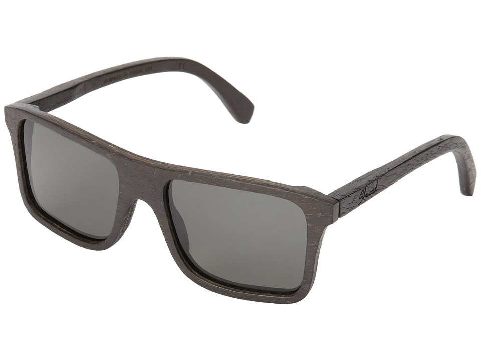 Shwood - Govy - Polarized (Dark Walnut - Grey Polarized) Sport Sunglasses