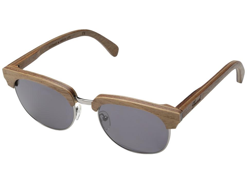 Shwood - Eugene (Walnut Silver- Grey) Sport Sunglasses