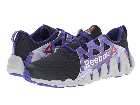 Reebok - Zigtech Big Fast (Glitch/Gravel/Ultima Purple/Steel/White) Women