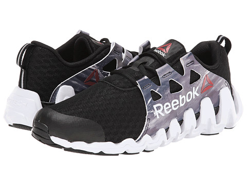 Reebok - Zigtech Big Fast (Glitch/Black/Flat Grey/White) Women