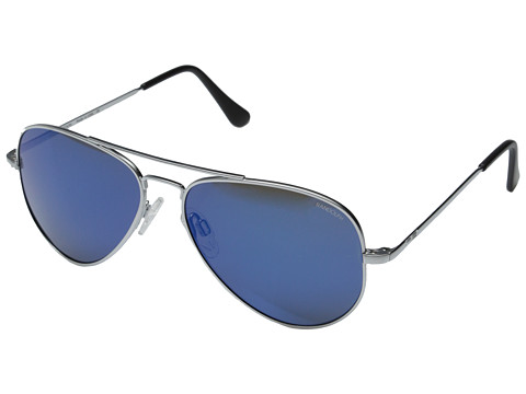 Randolph - Concorde 57mm (Matte Chrome/Blue Sky Flash) Fashion Sunglasses