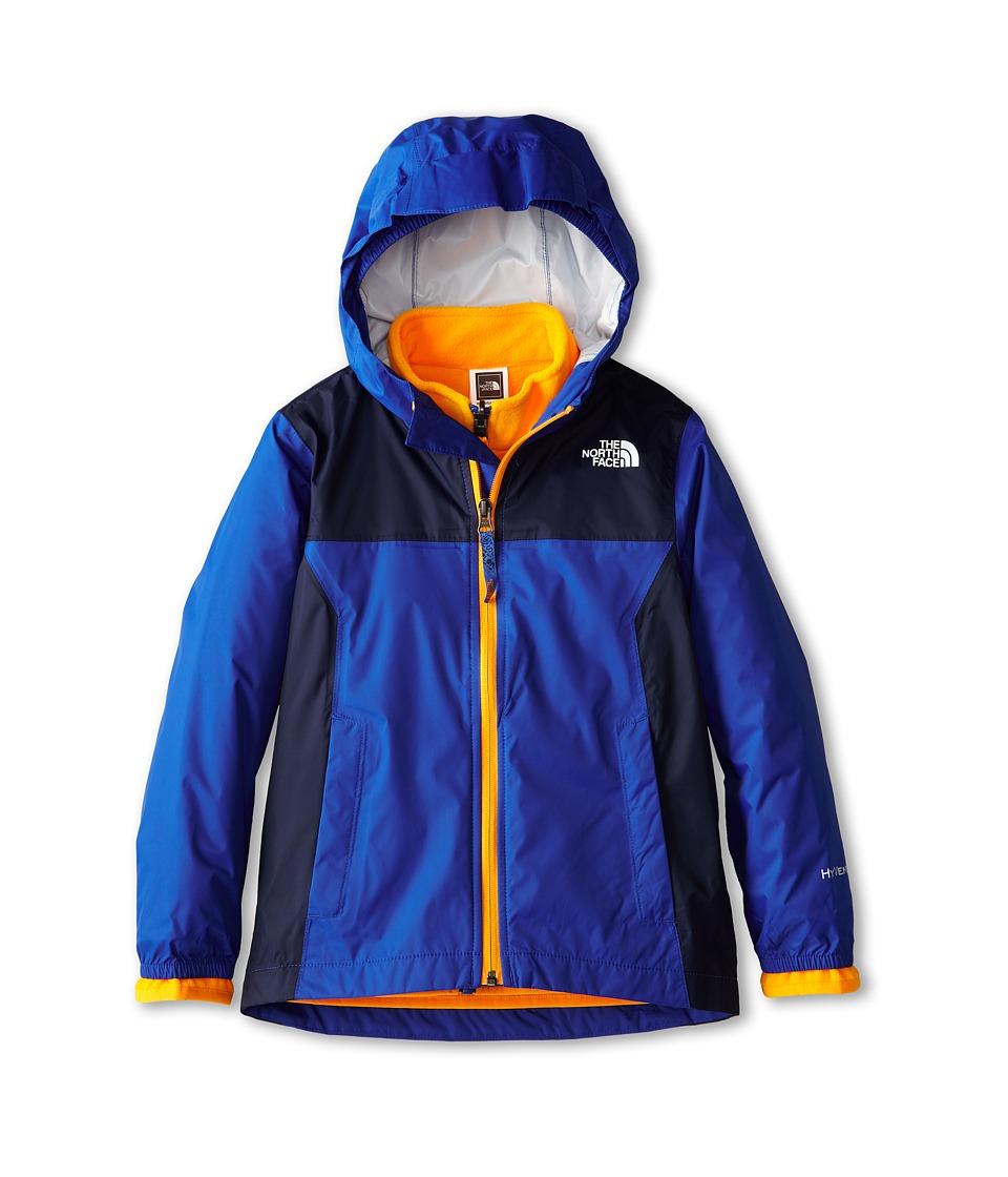 The North Face Kids - Kikori Rain Triclimate Jacket (Little Kids/Big Kids) (Monster Blue) Boy's Coat