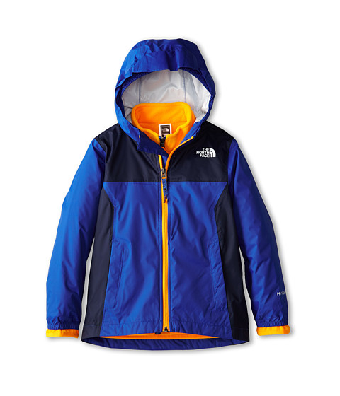 The North Face Kids - Kikori Rain Triclimate Jacket (Little Kids/Big Kids) (Monster Blue) Boy