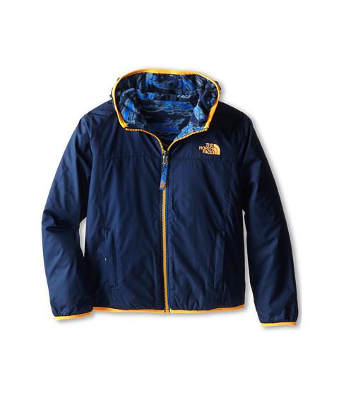 The North Face Kids - Cahow Reversible Print Lined Fleece Jacket (Little Kids/Big Kids) (Cosmic Blue) Boy