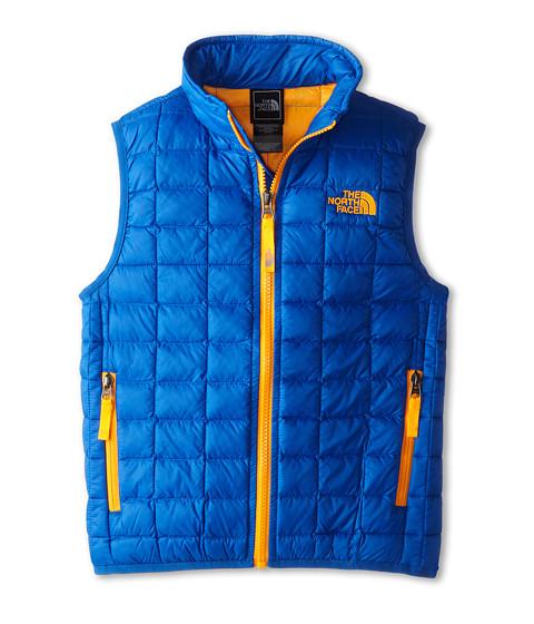 The North Face Kids - ThermoBall Vest (Little Kids/Big Kids) (Monster Blue) Boy's Vest