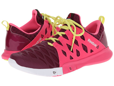 Reebok - ZRX TR (Rebel Berry/Solar Pink/High Vis Green/White) Women