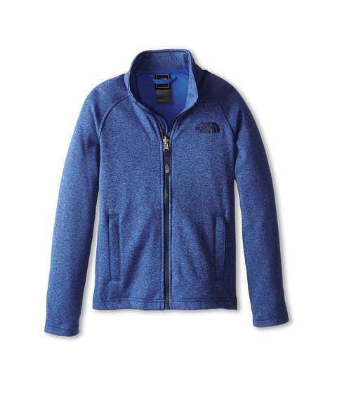 The North Face Kids - Canyonlands Full Zip Jacket (Little Kids/Big Kids) (Monster Blue) Boy's Coat