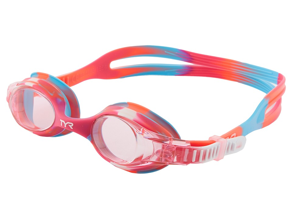 TYR - Swimplestm Goggles (Pink/White) Water Goggles
