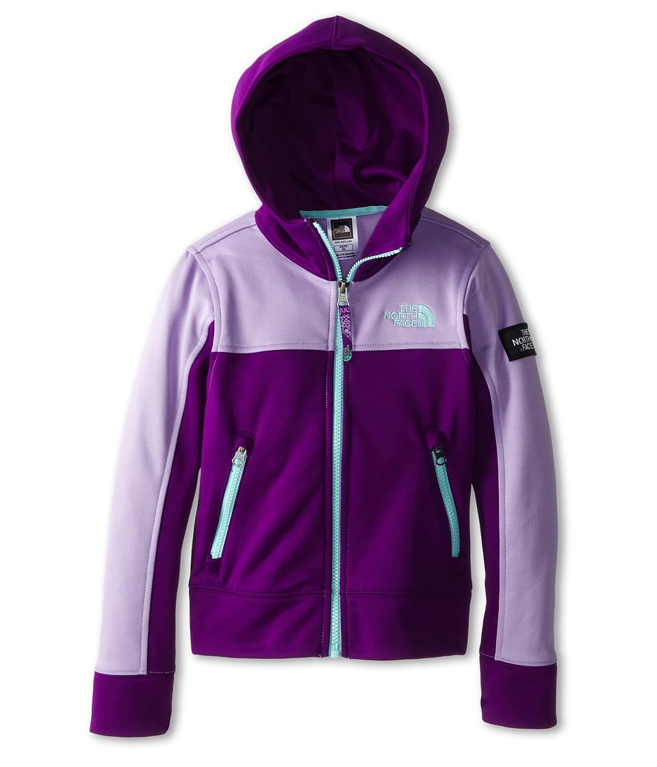 The North Face Kids - Mayzie Full Zip (Little Kids/Big Kids) (Iris Purple) Girl's Sweatshirt