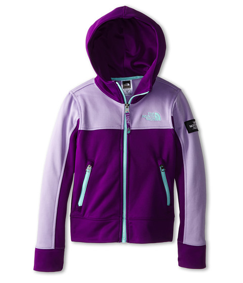 The North Face Kids - Mayzie Full Zip (Little Kids/Big Kids) (Iris Purple) Girl's Sweatshirt