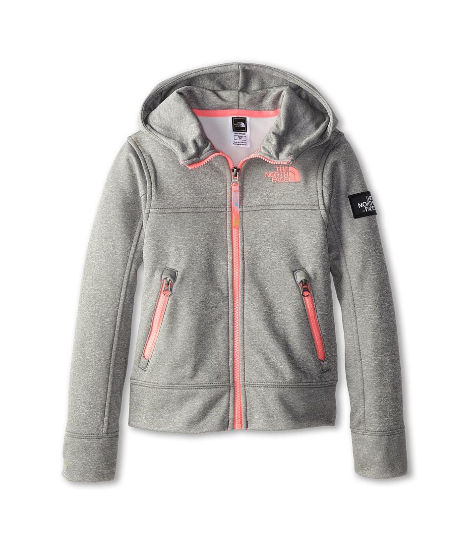 The North Face Kids - Mayzie Full Zip (Little Kids/Big Kids) (Heather Grey) Girl's Sweatshirt