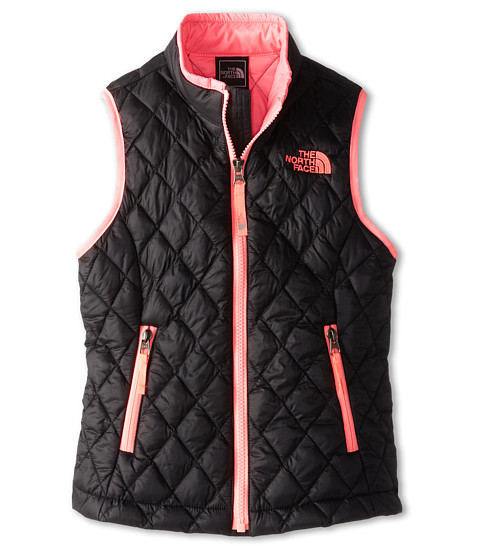 The North Face Kids - ThermoBall Vest (Little Kids/Big Kids) (TNF Black) Girl