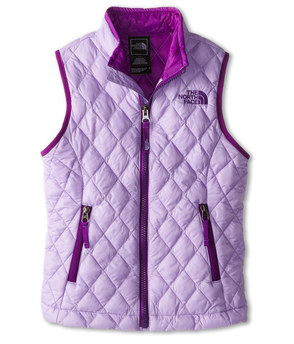 The North Face Kids - ThermoBall Vest (Little Kids/Big Kids) (Violet Tulip Purple) Girl's Vest
